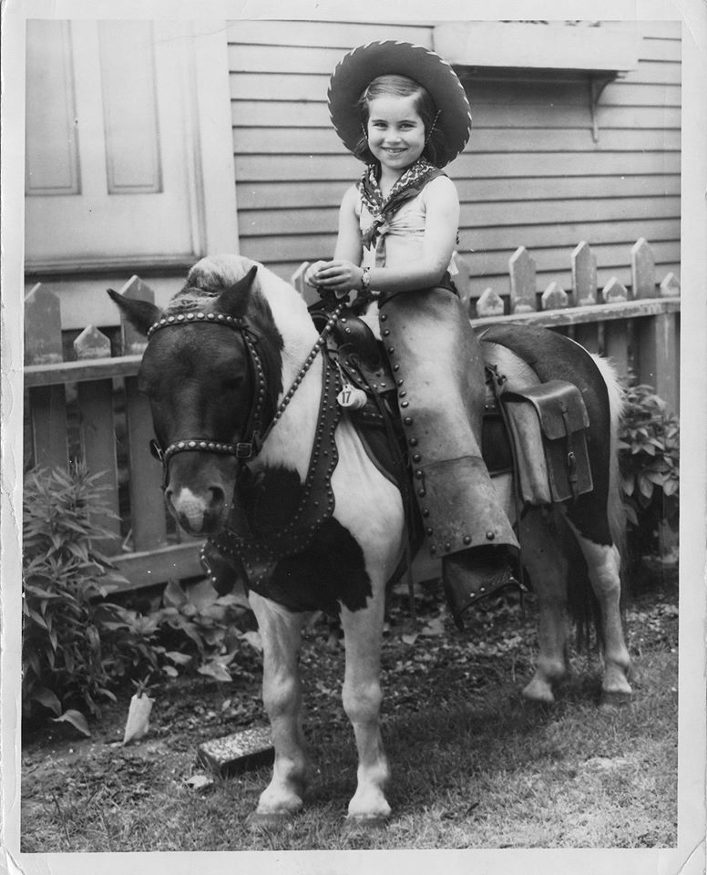 mom on horse